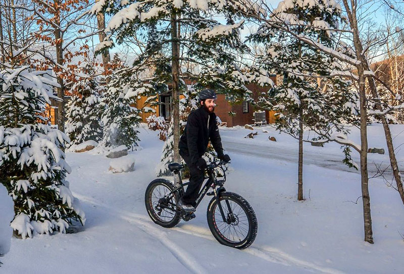 fat biking Mont Tremblant