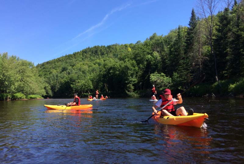 Kayak in Mont Tremblant