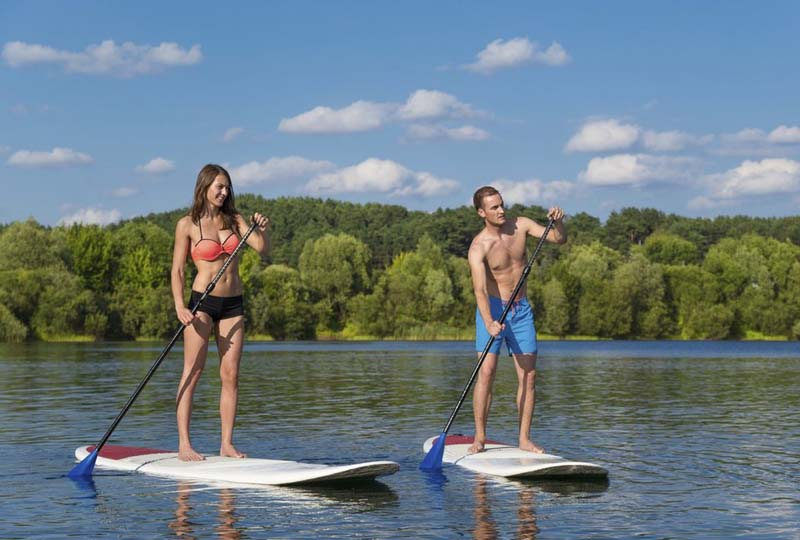 paddle board Mont Tremblant