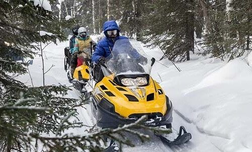 winter activities in Mont Tremblant