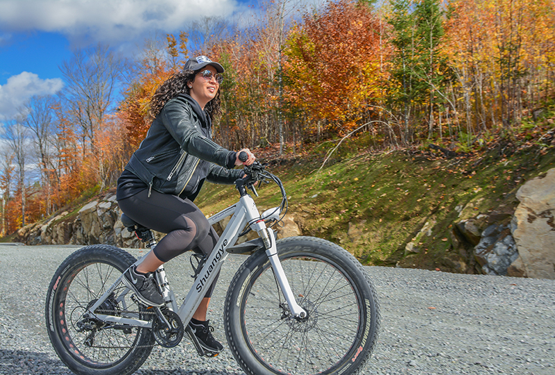 fat bike in Mont Tremblant