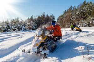 snowmobile tremblant, motoneige mont tremblant